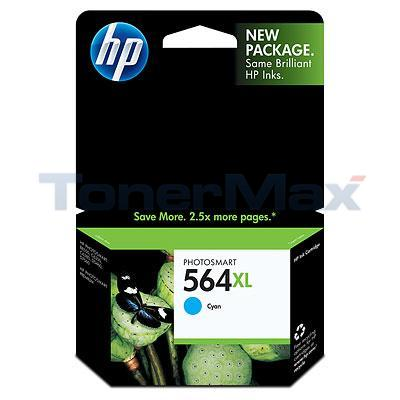 HP PHOTOSMART C6380 NO 564 XL INK CART CYAN